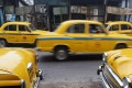 Taxis on a street in Calcutta. The ADB 2050 report envisages India as one of Asia's seven economic stars, but not Hong Kong. Photo: AFP
