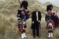 Donald Trump plays up his Scottish heritage and has built golf courses and hotels there. He also has become embroiled in business disputes in Scotland that have not helped his popularity. File photo: Reuters