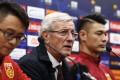 China head coach Marcello Lippi faces a huge task in Tehran on Tuesday night. Photo: Xinhua