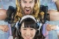 Ladybeard and Reika Saiki have teamed up to form Deadlift Lolita and play their first gig in April. Photo: Naoko Tachibana