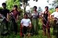 Members of Harakah al-Yaqin, a Rohingya Muslim militant group in Myanmar's Rakhine state that denies it is a terrorist organisation. Photo: YouTube