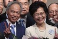 Carrie Lam and husband Lam Siu-por (left) will embark on a four-day trip to Beijing from Sunday. Photo: Robert Ng