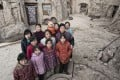Tanda village, in Shanxi province, where people still live in cave homes and few wear glasses. Pictures: Zigor Aldama