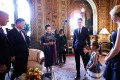 Five-year-old Arabella Kushner serenaded President Xi Jinping and first lady Peng Liyuan with a popular Chinese folk song and recited Chinese poetry for them during their visit at US President Donald Trump's Mar-a-Lago estate in Palm Beach, Florida. Photo: China News Service