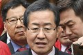 South Korean presidential candidate Hong Joon-pyo. Photo: Kyodo