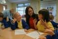 A Shanghai maths teacher at an English primary school. Photo: Handout