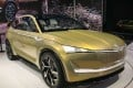 Skoda's Vision E electric autonomous SUV concept, was one of many electric and smart cars on display at the Auto Shanghai 2017 motor show. Photo: Mark Andrews