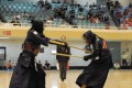 The mock combat sport uses wooden representations of a rifle with a bayonet attached and has its roots in military drills introduced from France in the mid-1800s. Photo: All Japan Jukendo Federation