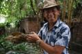 The North American alligator snapping turtle is one of Kuya Kim's more aggressive animals. Photo: Karim Raslan