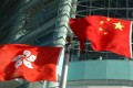 Flags of the People's Republic of China and Hong Kong Special Administrative region. Photo: Shutterstock