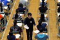 The Hong Kong exam system has long been criticised for being exam oriented. Photo: Pool Picture