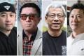 Spirit of Hong Kong Award nominees Davis Dai Kim-ping, Comma Chan Hin-wang, Lam Kam-shing, and Roy Tang. Photos: Dickson Lee, Nora Tam