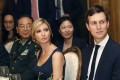 Ivanka Trump, daughter and assistant to US President Donald Trump, with husband and White House senior adviser Jared Kushner during a dinner hosted for President Xi Jinping at Trump's Mar-a-Lago estate in Florida on April 6. Photo: AP