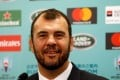 Australia head coach Michael Cheika's side avoided a difficult group in the World Cup 2019 draw in Kyoto. Photo: Reuters