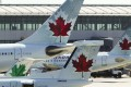 Not allowed to board Air Canada flight. Photo: Reuters