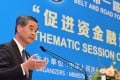 Hong Kong Chief Executive Leung Chun-ying speaks about the city's role in Beijing's trade strategy. Photo: Handout