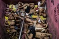 Scenes from Quezon City Jail, one of the Philippines' most overcrowded prisons. File photo: AFP