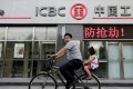 The three banks expected to do well out of credit cards in the coming year are ICBC, China Construction Bank, and China Merchants Bank. Photo: Reuters