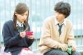 Haruna Kawaguchi and Kento Yamazaki in the Japanese teen romance One Week Friends (category I; Japanese). The film, directed by Shosuke Murakami, also stars Shuhei Uesegi.