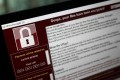 A lock screen from the WannaCry cyberattack. Photo: Bloomberg