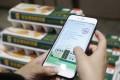 A smartphone displays Ali Health's food tracking service. Photo: SCMP Handout
