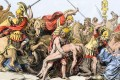 Greeks and Trojans battle in the Trojan War. Picture: Alamy