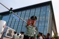 China's police are taking on an increased intelligence role, according to a US analyst. Photo: Reuters