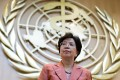 WHO Director General Margaret Chan at the UN body's Geneva headquarters. Photo: AFP