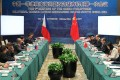 The Philippines said bilateral talks with China on the South China Sea last Friday were frank and friendly. Photo: Xinhua
