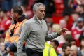 Manchester United manager Jose Mourinho reportedly left the Old Trafford ground just 20 minutes after the end of the match following their win over Crystal Palace. photo: Reuters