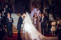 Actor Huang Xiaoming and actress Angelababy spent HK$260 million on their wedding in Shanghai in 2015. Photo: Xinhua