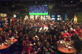 The Manchester United Supporters Club Hong Kong watch the Europa League final. Photo: MUSC