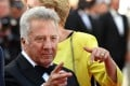 US actor Dustin Hoffman at the screening the film The Meyerowitz Stories (New and Selected) at the 70th edition of the Cannes Film Festival. Photo: AFP