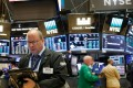 Action in the New York Stock Exchange (NYSE) as records were set in the S&P 500 and Nasdaq. Photo: Reuters