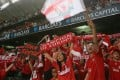 Liverpool fans cheer their team the last time the Reds came to Hong Kong in 2007. Photo: SCMP