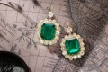 The auction features coloured stones including Burmese rubies, Colombian emeralds and Kashmir sapphires