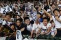 Tottenham Hotspur fans cheer their team in Hong Kong. Photo: SCMP / Nora Tam