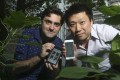 Scott Edmunds and Mendel Wong have made a Hong Kong version of Mosquito Alert, an app that tracks and monitors mosquitoes. Photo: K. Y. Cheng