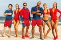 Jon Bass, Alexandra Daddario, Zac Efron, Dwayne Johnson, Kelly Rohrbach and Ilfenesh Hadera star in Baywatch (category; llB) directed by Seth Gordon.