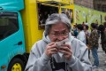 John Tsang, who as financial secretary proposed the idea in his 2015 budget, visits a food truck at Tsim Sha Tsui while campaigning for the Hong Kong chief executive election, on February 4. Photo: Facebook