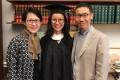 Princeton University graduate Chow Jin-yun was named valedictorian of her class. Photo: Handout