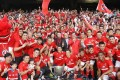 South China celebrate winning the league championships in 2013, one of 41 league titles for Hong Kong's best-supported club. Photo: Edward Wong