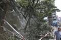The aftermath of the tree pruning operation at Kwong Fuk Road. Photo: Sam Tsang