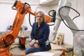 Christian Lange, a senior lecturer at the University of Hong Kong, says robots can help architects resume their original role as builders. Photo: David Wong