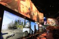 Gamers play the new Ubisoft Far Cry 5 on the opening day of E3 in Los Angeles last week. Photo: EPA