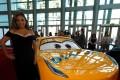 Cristela Alonzo, who voices Cruz Ramirez, poses at the premiere of Cars 3. Photo: Reuters