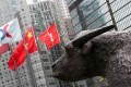 The Hang Seng Index ended the day 0.3pc down at 25,843.04. Photo: David Wong