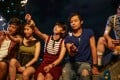 From left: Kyle Li, Mary Ma, Angela Yuen, Sean Pang and King Wu in the film Our Seventeen (category IIB; Cantonese, Putonghua), directed by Emily Chan.