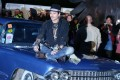 US actor Johnny Depp poses on a car as he attends the Cinemageddon event as part of the Glastonbury Festival. Photo: EPA