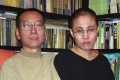 A file picture of Liu Xiaobo and his wife Liu Xia taken before his imprisonment. Photo: AFP